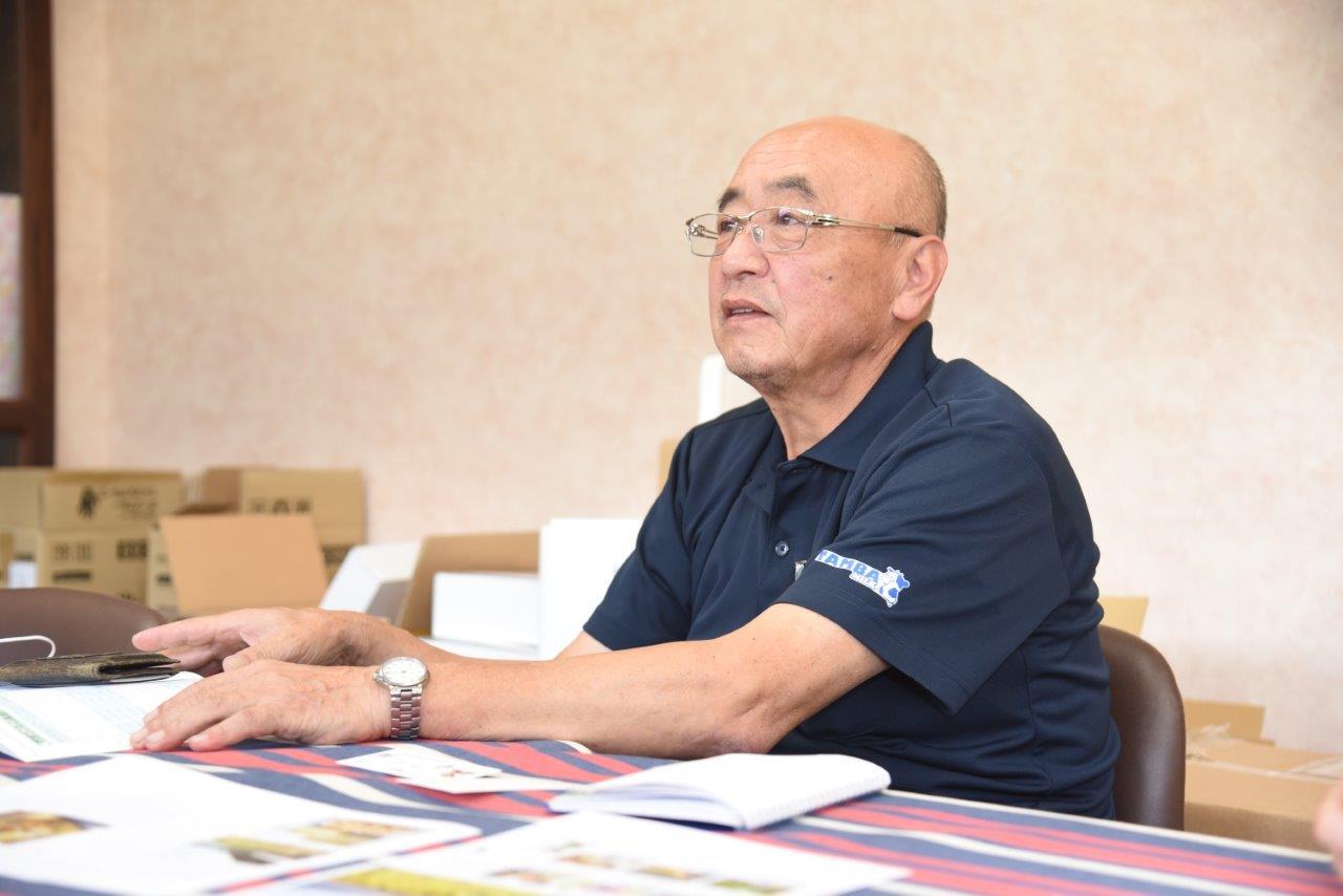 丹波乳業株式会社 品質保証部 部長 堀桂二さんにご案内いただきました